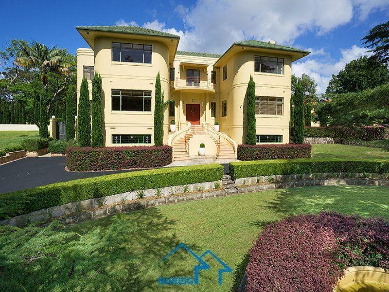 悉尼别墅内部结构图