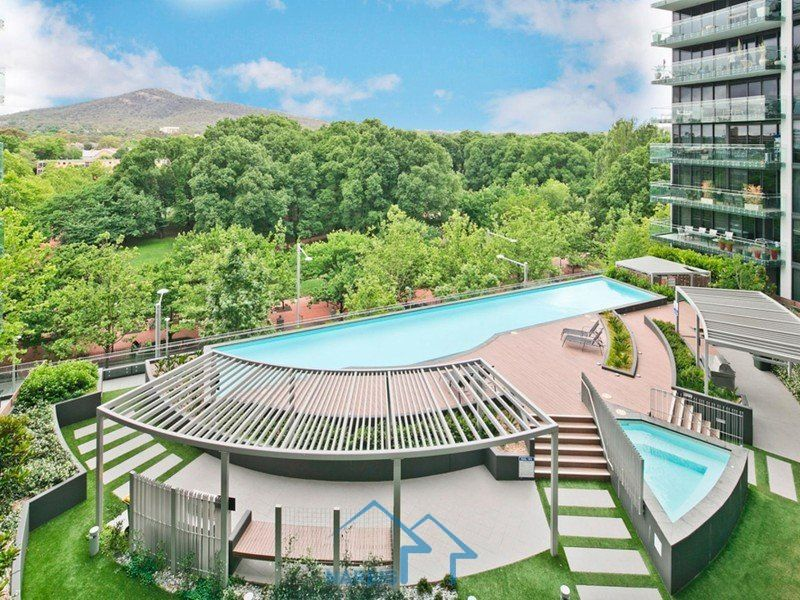 黄金地段的公寓,堪培拉市中心享受国际化生活