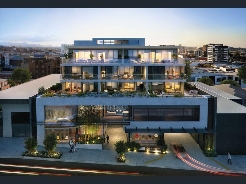 布里斯班Fortitude Valley毅力谷2居室公寓新房,宽敞的阳台,高端设计