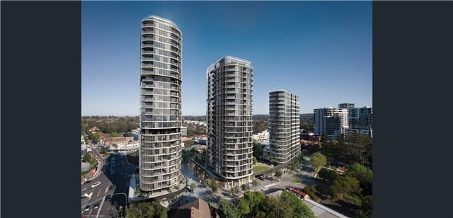悉尼埃平Epping 豪华公寓 优越位置 视野开阔 配套设施完善 全新打造