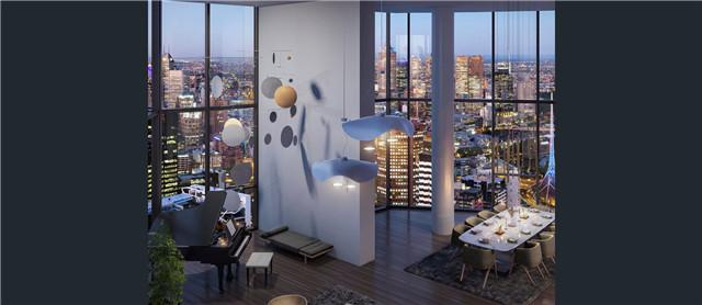 墨尔本Southbank 现代化公寓 2卧2卫 配套设施完善 宽敞明亮 南北通透